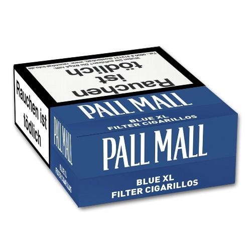 Pall Mall Blue Naturdeckblatt 17 Filterzigarillos