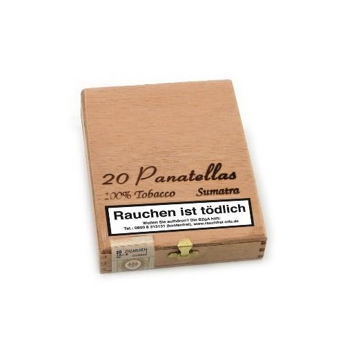 Kleinlagel Panatellas Sumatra 20 Zigarillos