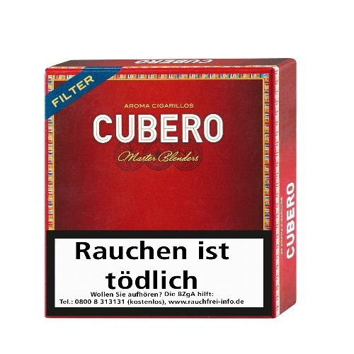 Cubero Aroma Filter 20 Zigarillos