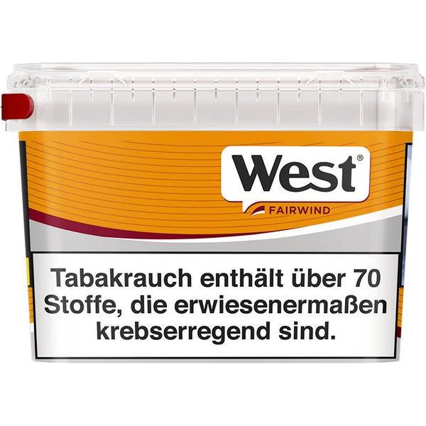 WEST Zigarettentabak Yellow 215 g