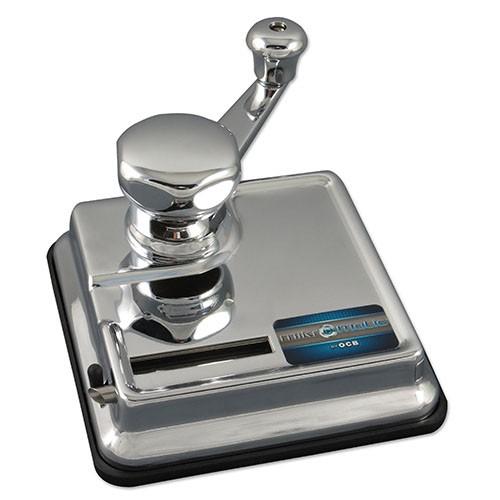 B-Ware Zigarettenstopfmaschine OCB Mikromatic Duo mit Hebel aus Metall in silber glänzend