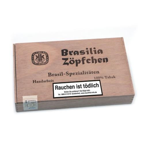 Brasilia Zöpfchen Brasil-Spezialitäten 25 Zigarren