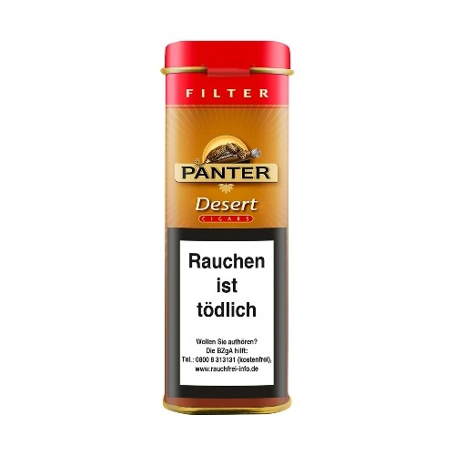 Panter Desert Filter 5 Zigarillos