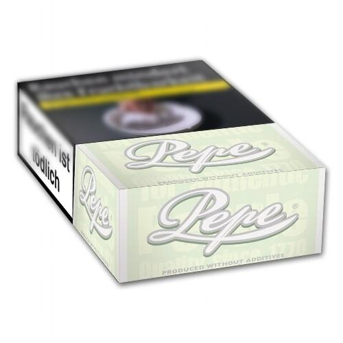 Pepe Zigaretten Fine Green ohne Zusätze (10x20)