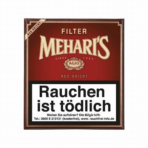 Agio Mehari's Filter Red Orient 20 Zigarillos