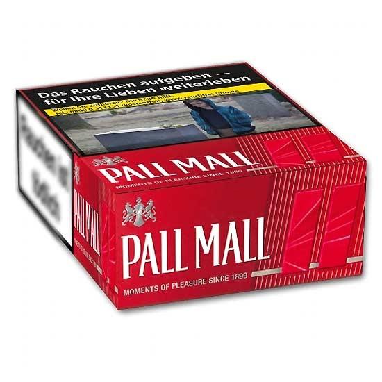 Pall Mall Zigaretten Red Super (5x37)