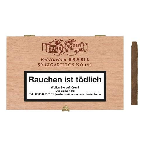 Handelsgold Fehlfarben No.140 Brasil 50 Zigarillos