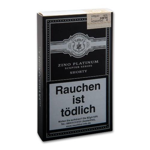 Zino Platinum Scepter Series Shorty 3 Zigarren
