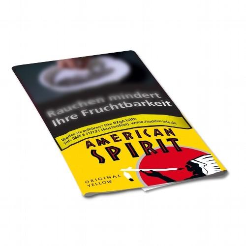 American Spirit Zigarettentabak Original Yellow 30 Gramm