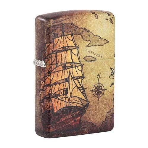 Zippo Sturmfeuerzeug Pirate Ship