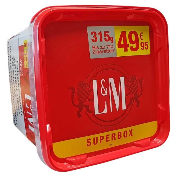 L&M Volume Tobacco Red Zigarettentabak Superbox 315 Gramm