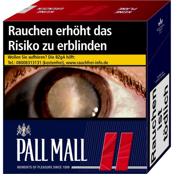 Pall Mall Zigaretten Red Jumbo (6x49)