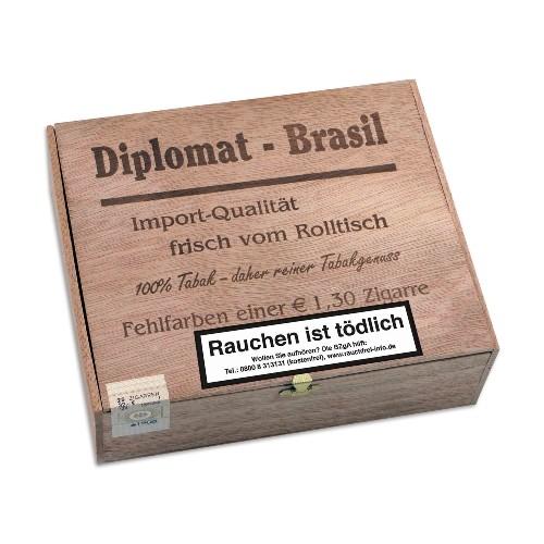 Diplomat Brasil Fehlfarben 25 Zigarren