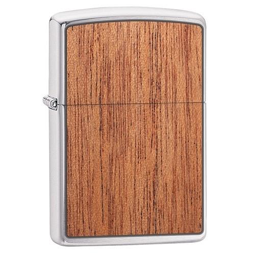 ZIPPO Sturmfeuerzeug Mahogany Emblem Woodchuck