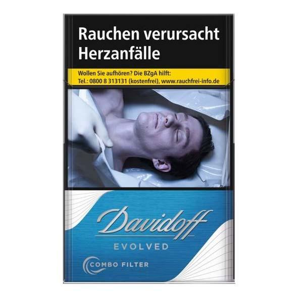 Davidoff Zigaretten Envolved blue (10x20)