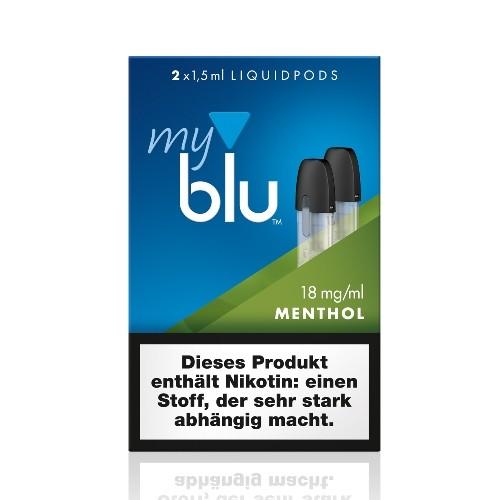 myblu Menthol 2 x LIQUIDPOD 18 mg Nikotin