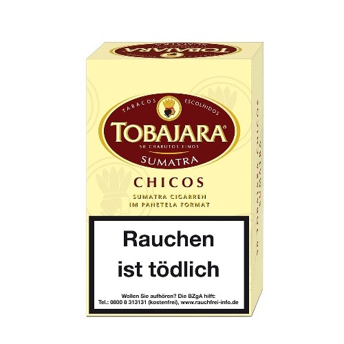 Tobajara Chicos Sumatra 50 Zigarillos