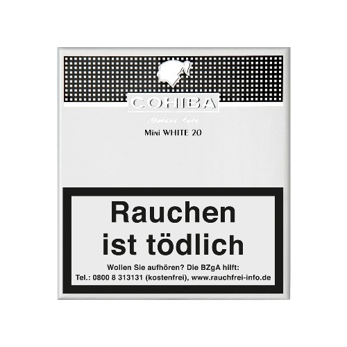 Cohiba White Mini 20 Zigarillos