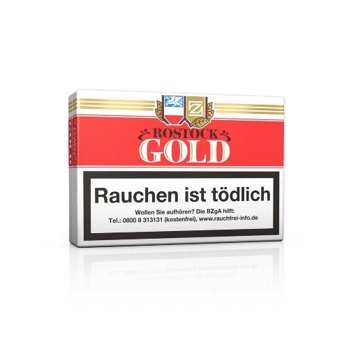 Rostock Gold 10 Zigarillos
