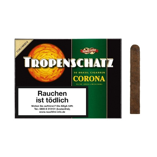 Tropenschatz Nr.824 Fehlfarben Corona Brasil 50 Zigarren