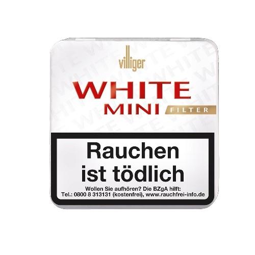 Villiger White Mini Filter 20 Zigarillos