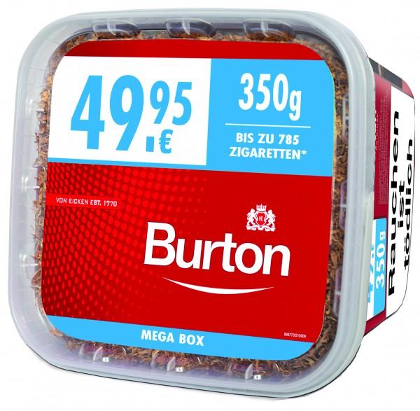 Burton Volumen Full Red Zigarettentabak XXXL 350 Gramm