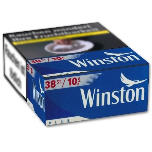 Winston Zigaretten Blue XXXXL-Box 10,00 Euro (5x38)