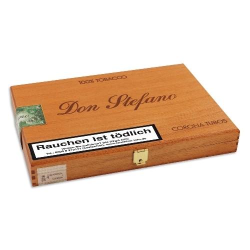 Don Stefano Corona Tubos Sumatra Dezent 10 Zigarren
