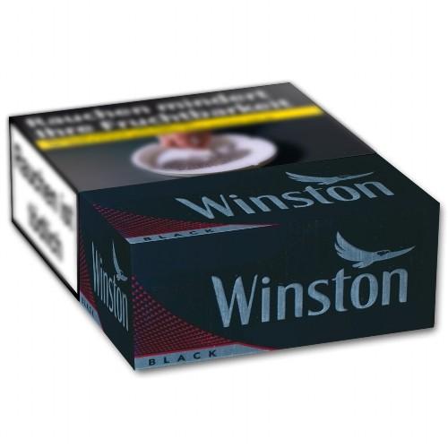 WINSTON Zigaretten Black 6XL (4x55)