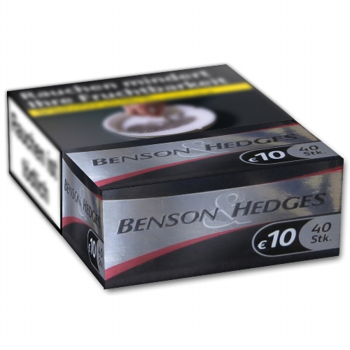 zigaretten benson hedges black xxxxl king size filter. Black Bedroom Furniture Sets. Home Design Ideas