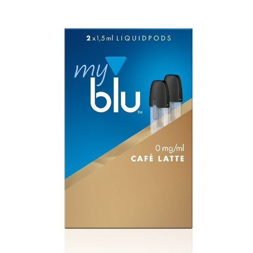 myblu Café Latte 2 x LIQUIDPOD ohne Nikotin