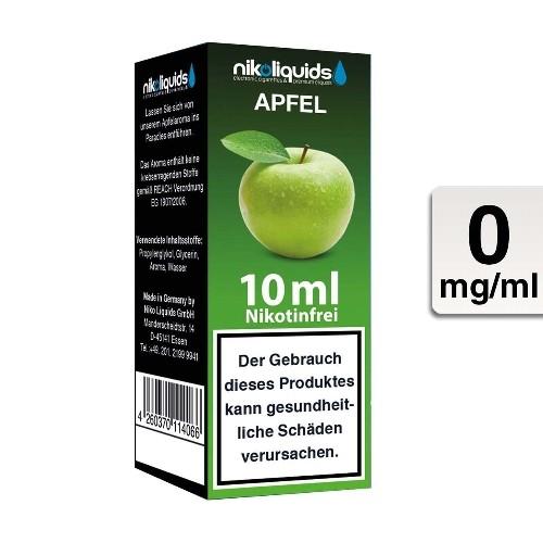 Nikoliquids Liquid Apfel ohne Nikotin