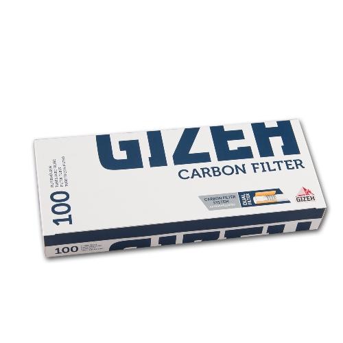 Silver Tip Carbon King Size Zigarettenhülsen Maxipack