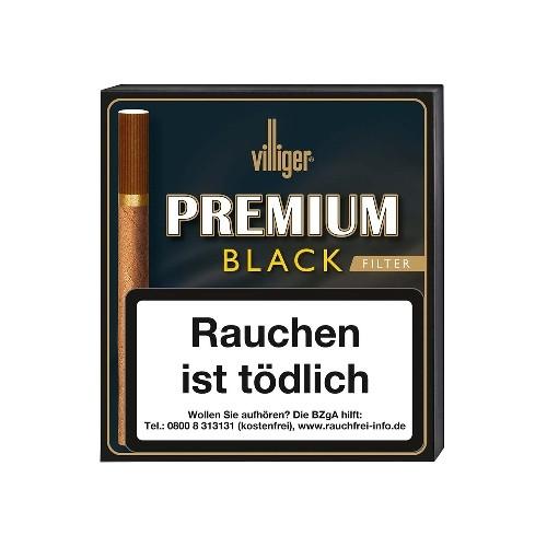 Villiger Premium Black Filter 20 Zigarillos