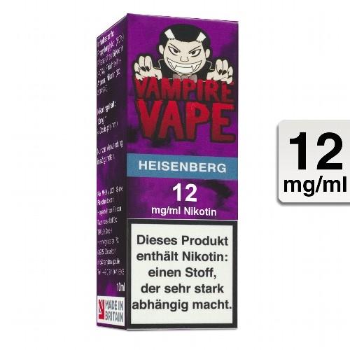 E-Liquid VAMPIRE VAPE Heisenberg 12 mg