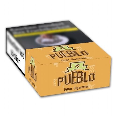 Pueblo Zigaretten Orange Filter ohne Zusatzstoffe (10x20)