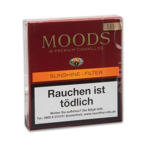 Dannemann Moods Sunshine Filter 18 Zigarillos