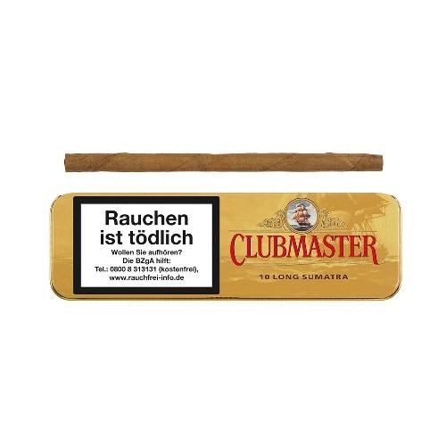 Clubmaster Long Sumatra 10 Zigarillos