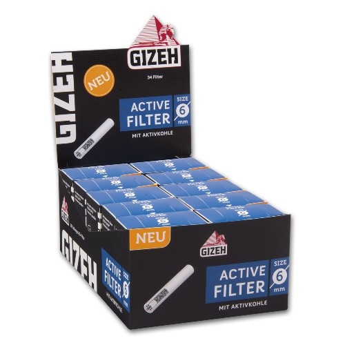 Gizeh Black Active Filter 6mm 10x34