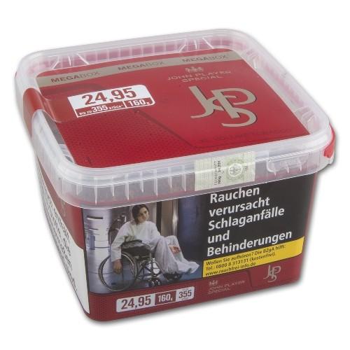 JPS Red Zigarettentabak XL Volume Tobacco 160 Gramm