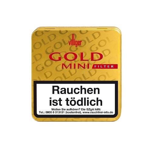 Villiger Gold Mini Filter 20 Zigarillos