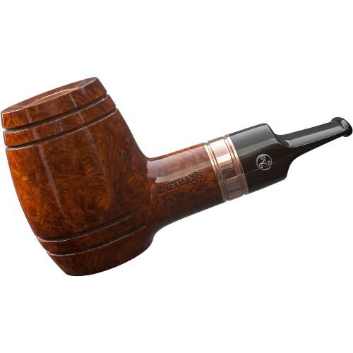Pfeife RATTRAY´S Devil's Cut terracotta Whiskypfeife Kupferring