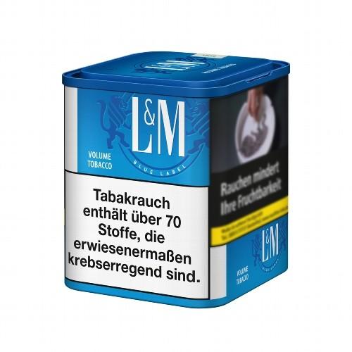 L&M Blue Zigarettentabak Volumen 45 Gramm