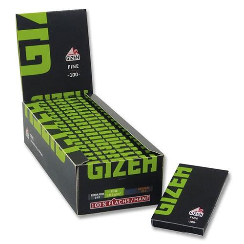 Zigarettenpapier Gizeh Fine Magnet 20 Heftchen à 100 Blättchen