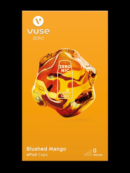 E-Zigarette Vuse ePod Caps Blushed Mango 0 mg 2 Caps