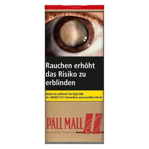 Zigarettentabak Pall Mall Authentic Red ohne Aromazusätze XXL-Dose 95 Gramm