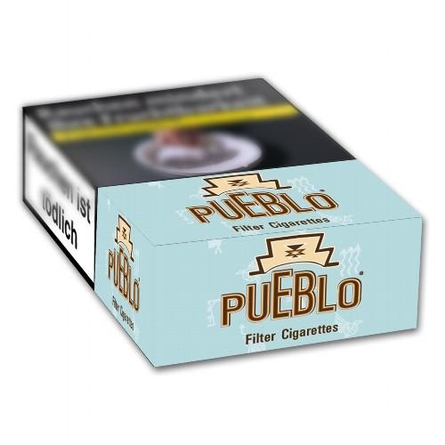 Pueblo Zigaretten Blue Filter ohne Zusatzstoffe (10x20)