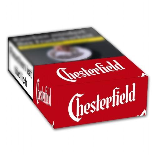 Chesterfield Red Zigaretten Mit King Size Filter 10x20 Tabak