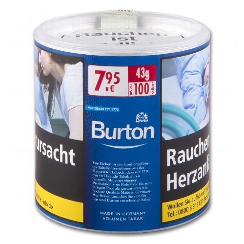 Burton Blue Zigarettentabak 43 Gramm ( ehemals White )