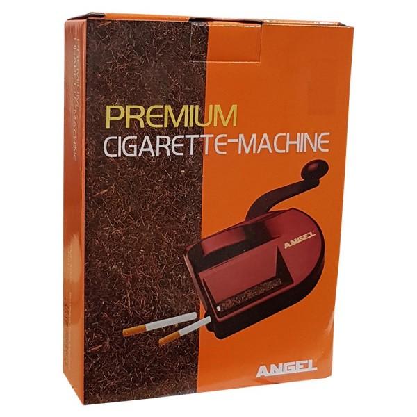 Zigarettenstopfmaschine Angel Magic Tube mit Hebel aus Kunststoff in rot